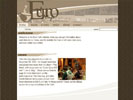 Euro Cafe site design